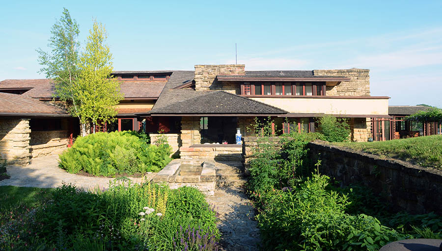 Image result for Taliesin, Wisconsin, 1911