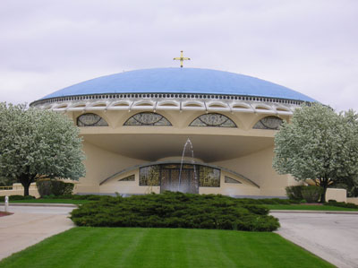 Annunciation Greek Orthodox Church (1955-61)  Frank Lloyd Wright Wisconsin