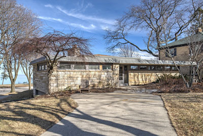 Dr. George and Lucy Vander Beke House (1954)  John Randal McDonald